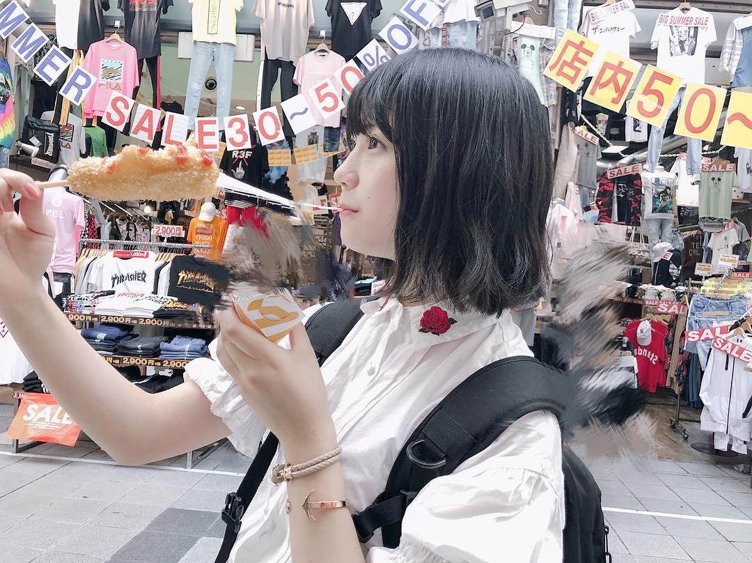 【SKE48】ゆななちゃん、チーズを伸ばす【小畑優奈】