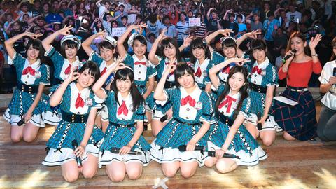 AKB48 チーム8の地上波初冠番組が決定!!!日テレ深夜枠「AKB チーム8の ブンブン!エイト大放送」