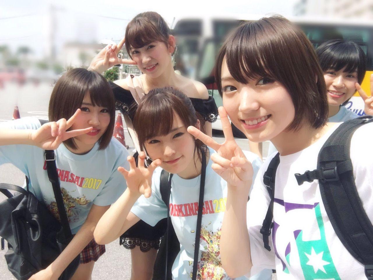 【沖縄国際映画祭】NMB48メンバーのオフショット画像など