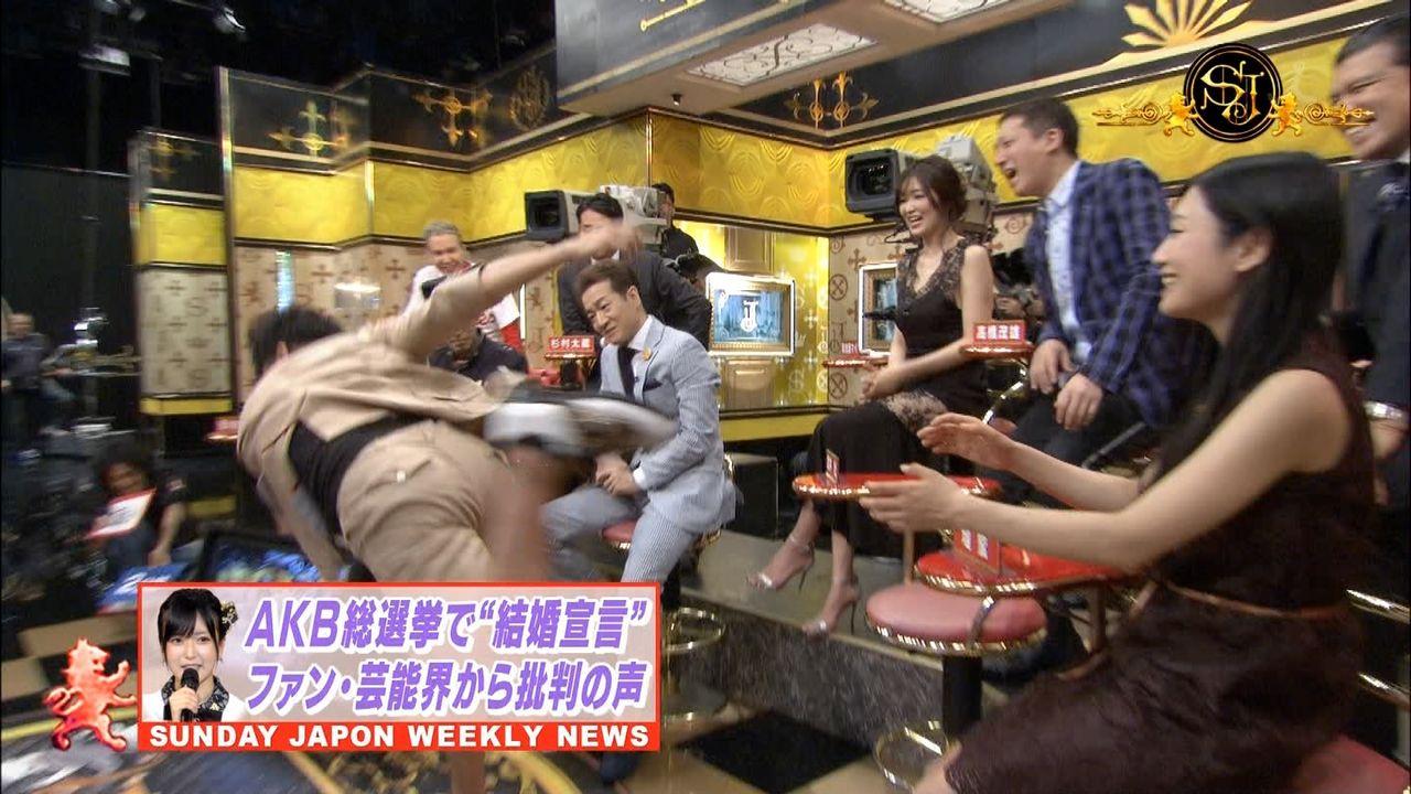 【朗報】武井壮がNMB48須藤凜々花の倒し方を披露!【サンジャポ】