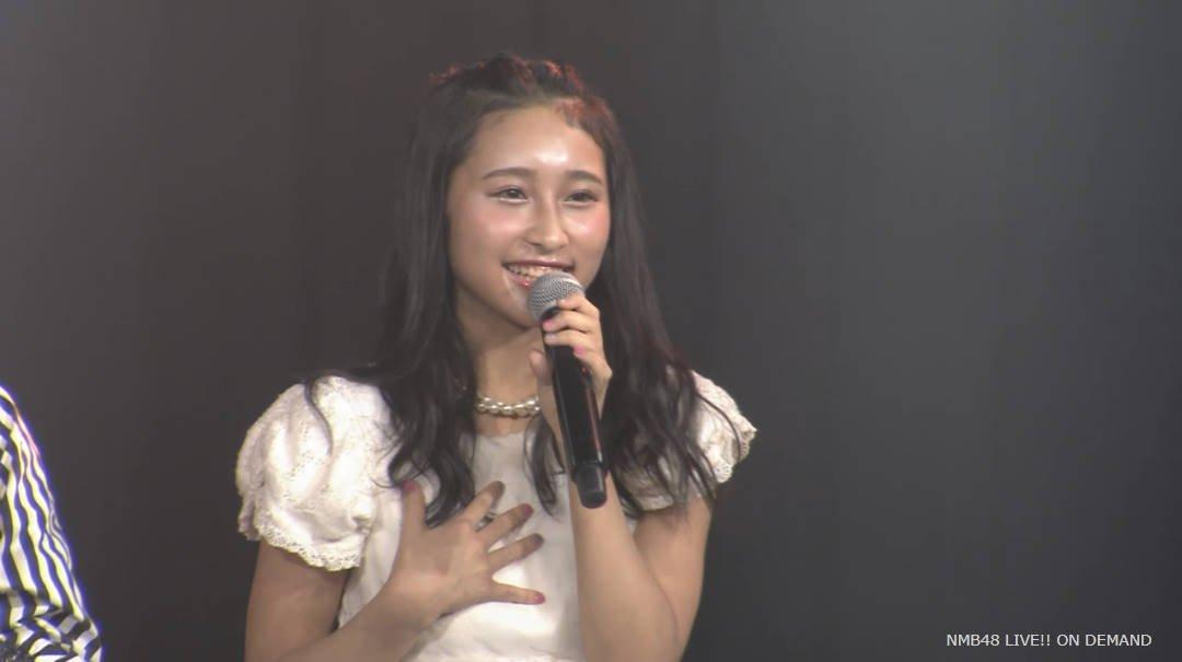 【NMB48チームN公演】デコ出しなっつキタ━━━(゚∀゚)━━━!!【明石奈津子】