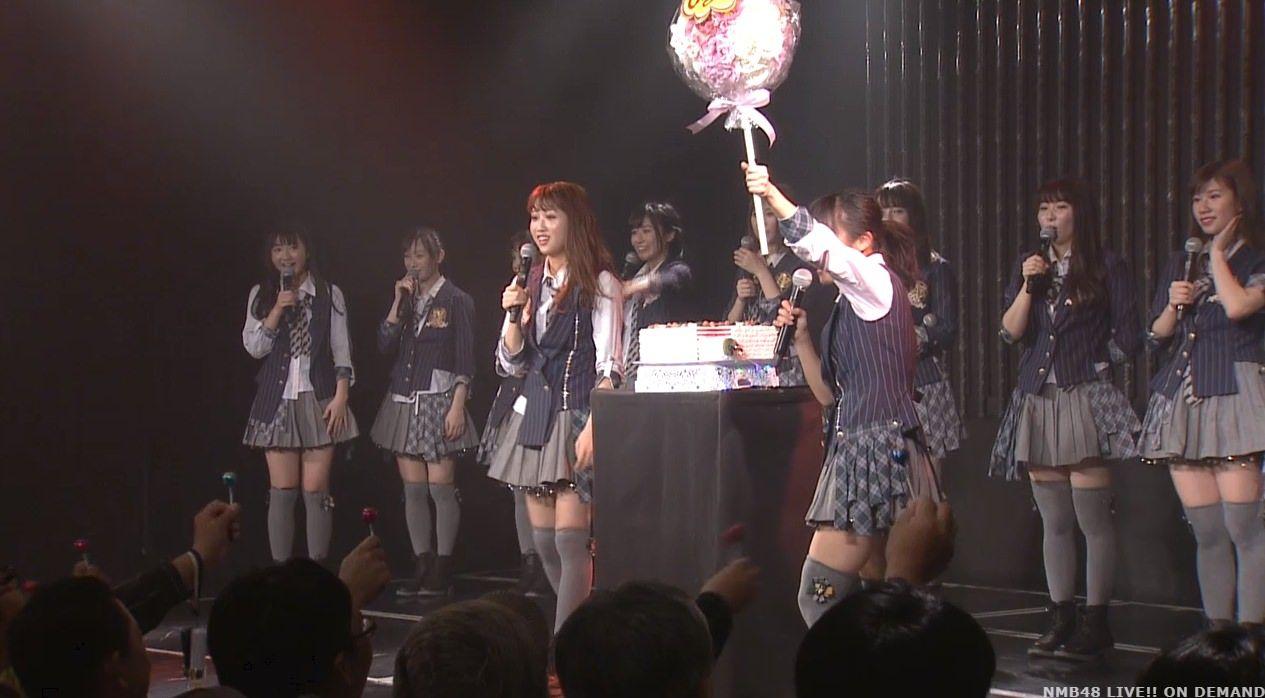 【NMB48】山尾梨奈生誕祭「これが私の大好きなチームNなので、これからも応援してくださると嬉しいです」