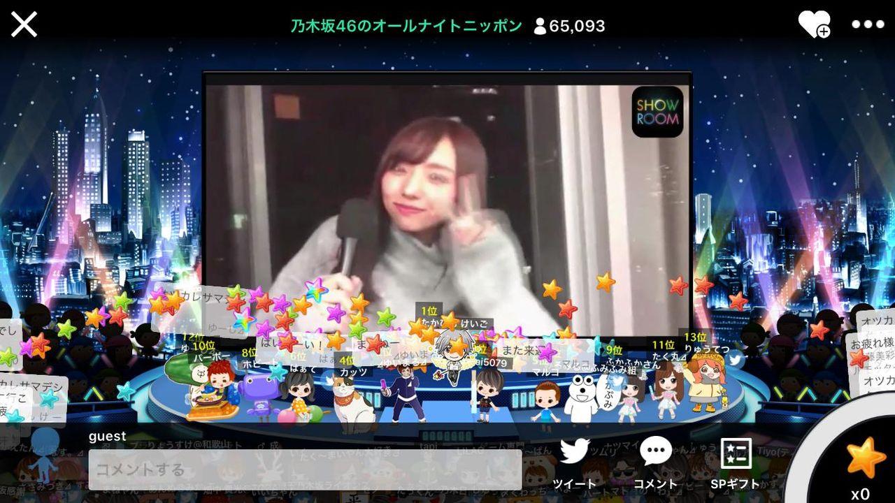 乃木坂46のオールナイトニッポン視聴数、1時間でAKB48最終回を追い抜く。