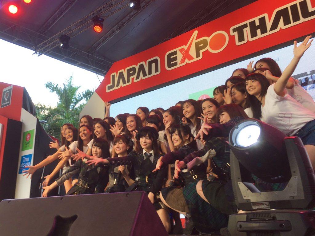 【画像】AKB48姉妹のグループ、タイ・バンコクBNK48 1期生29名をお披露目!!【ジャパンエキスポタイランド2017】