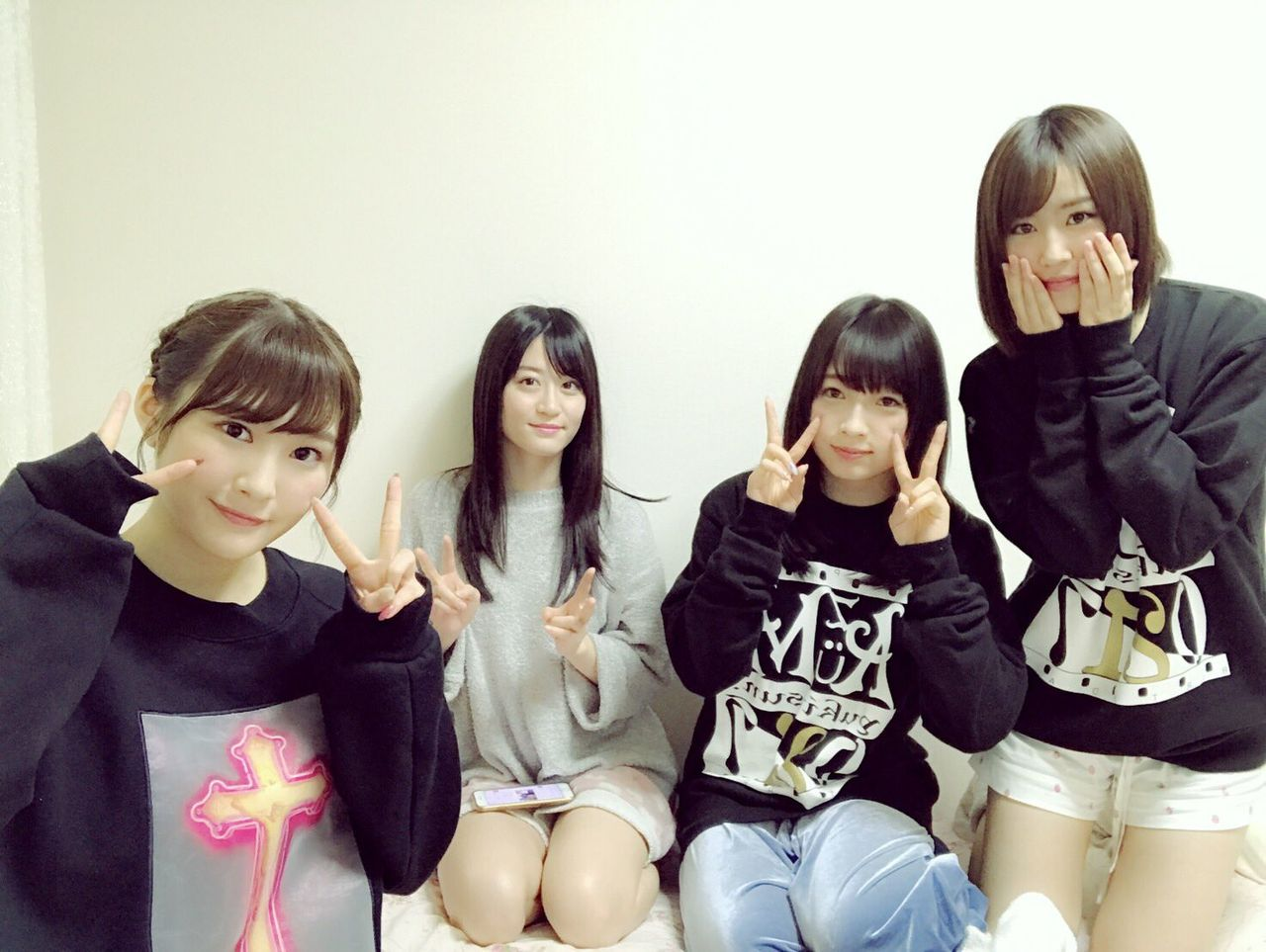【NMB48】上西恵・川上礼奈・東由樹・古賀成美・ファミリーがSHOWROOM配信を敢行