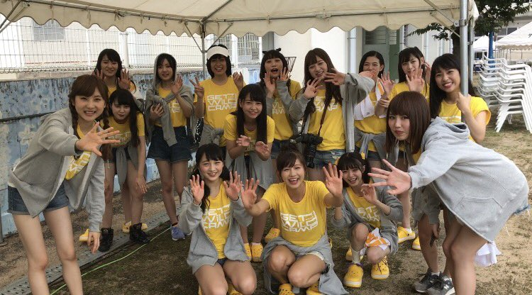 【NMB48】YNN『GET WILD CAMP』感想・メンバーのツイートなどまとめ