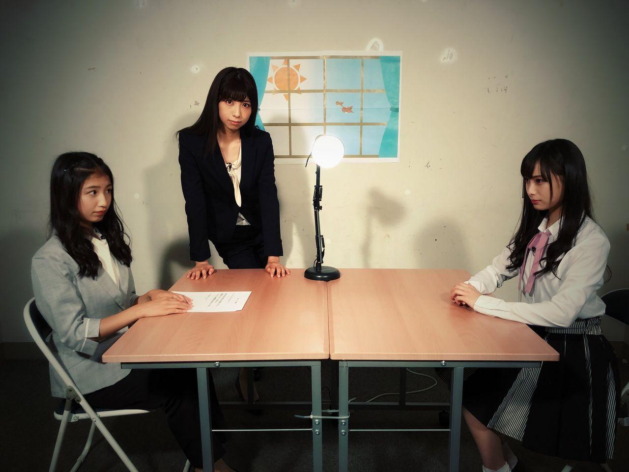 【NMB48】新YNNに新企画「ケイト取調室」きたーー【塩月希依音・鵜野みずき】