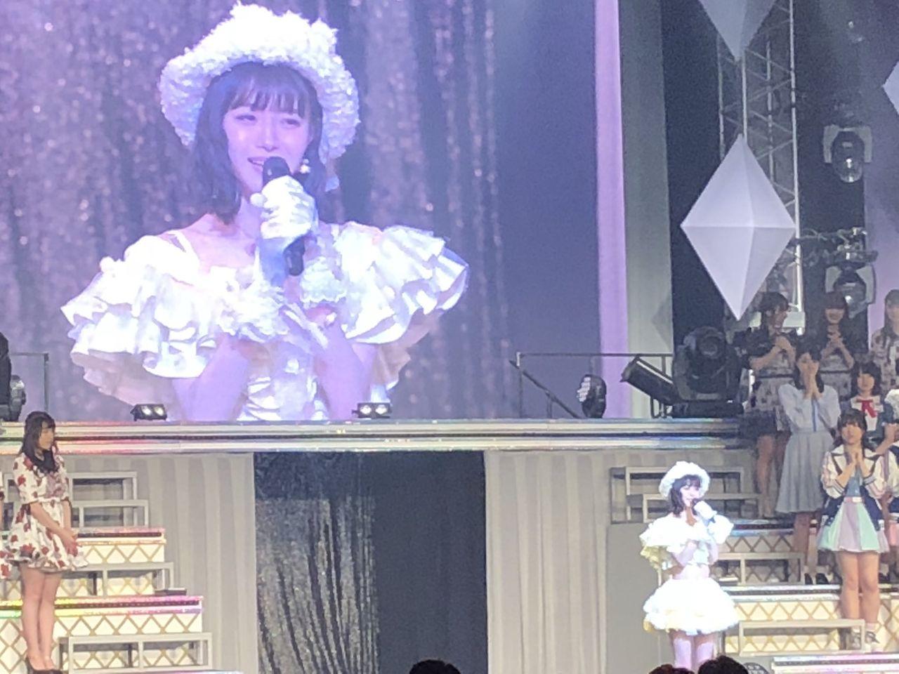 NMB48市川美織、リクアワで卒業を発表