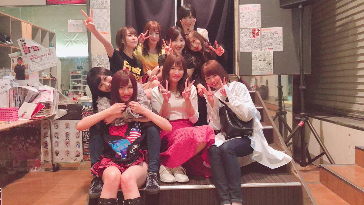 【NMB48】U-19コンサートを観戦に来た意外なメンバー