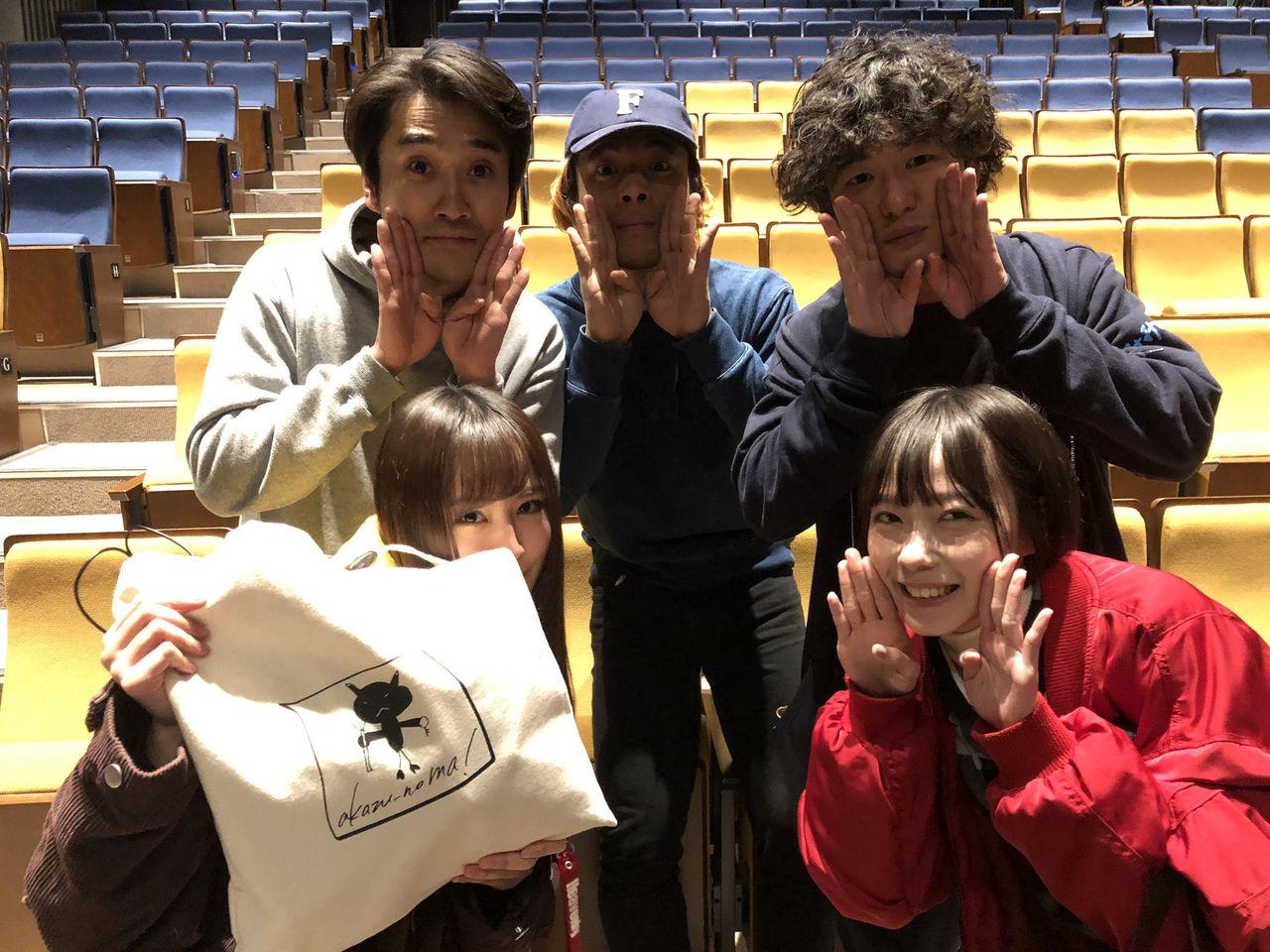 【アカズノマ】J-WAVE×ゴジゲン「みみばしる」観劇 【石塚朱莉,古賀成美】