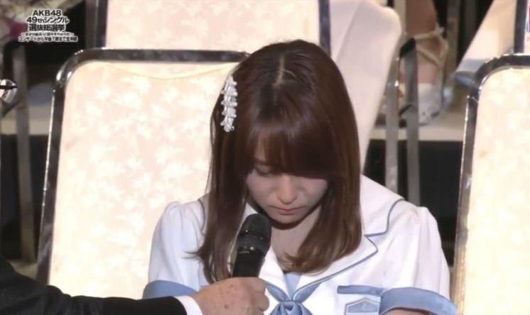 【AKB総選挙2017】SKE48大場美奈「ただショックでした。あそこで笑顔になる余裕がなかったんです」