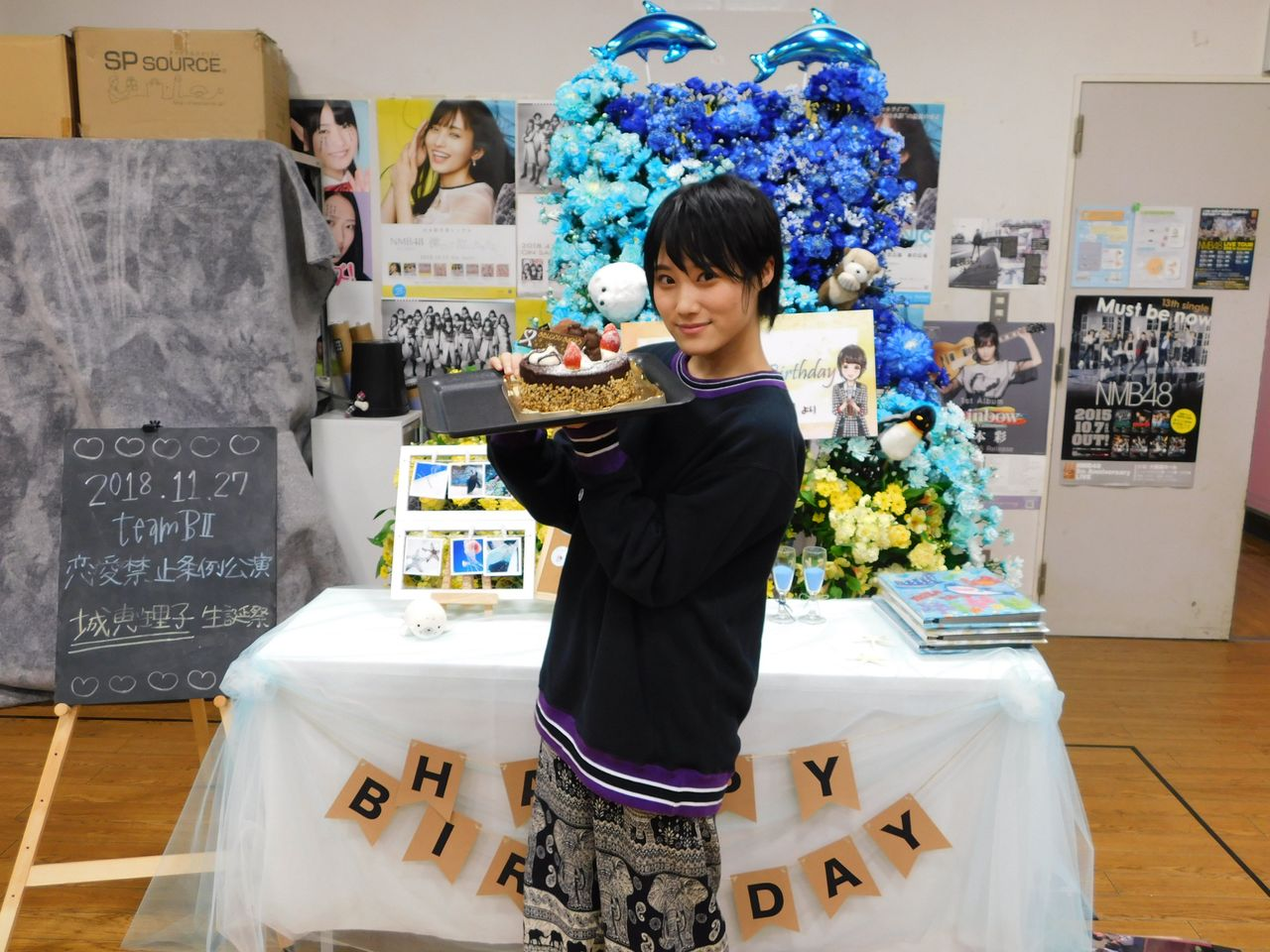 【NMB48】城恵理子生誕祭「後輩の育成、指導に力を注ぐ」