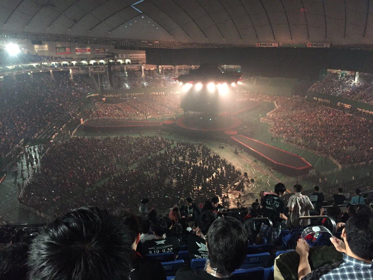 BABYMETAL東京ドーム公演が大盛況!アリーナ内野外野すべて人だらけwwwwwwwwwwwwwwwwwww