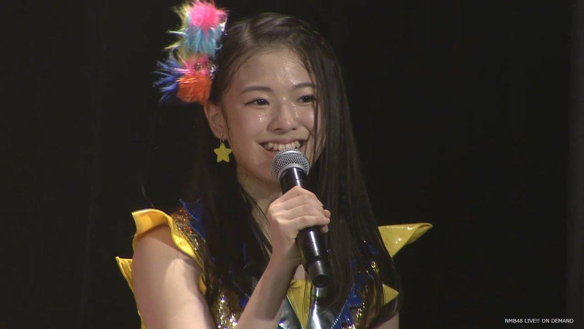 溝川実来、卒業を発表。NMB48最年少