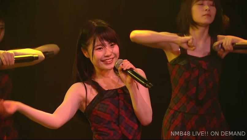 NMB48に元SKE48小畑優奈さんに顔がそっくりな子がいた