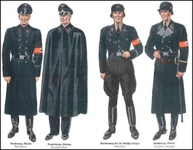 【画像】欅坂46の新衣装がナチス親衛隊っぽいと話題に