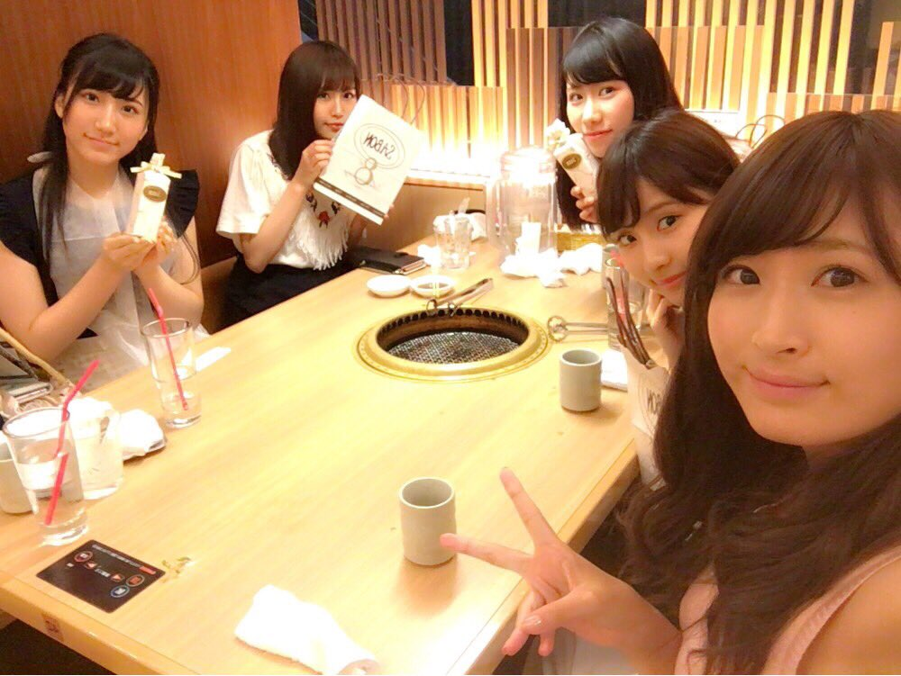 【NMB48】ゆうるりなるモカと村上文香の焼き肉キタ━━━━(゚∀゚)━━━━!!