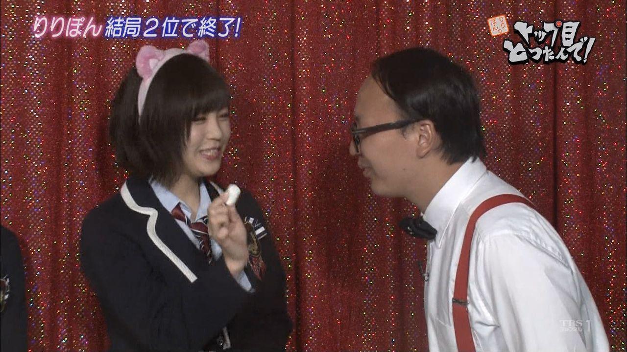 【嫁入り前】NMB48三田麻央、トレンディエンジェルたかしに指を舐められる
