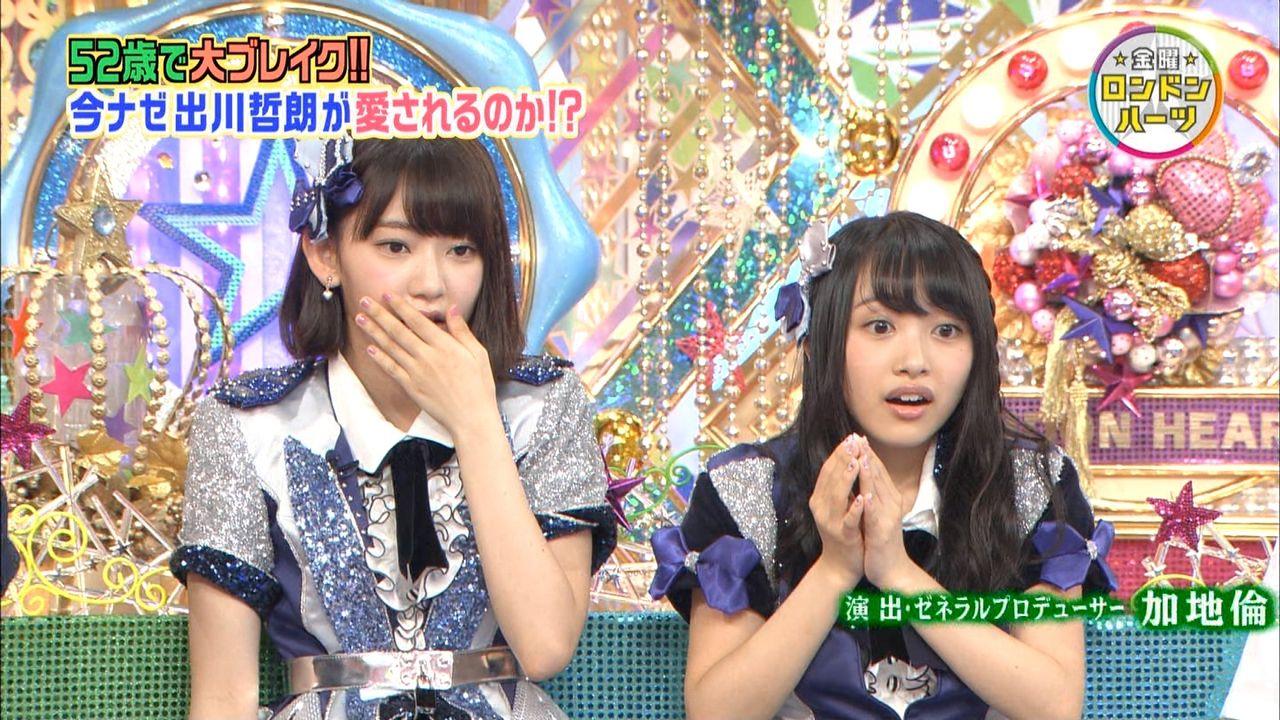 AKB48向井地美音・HKT48宮脇咲良のロンドンハーツ出演が決定
