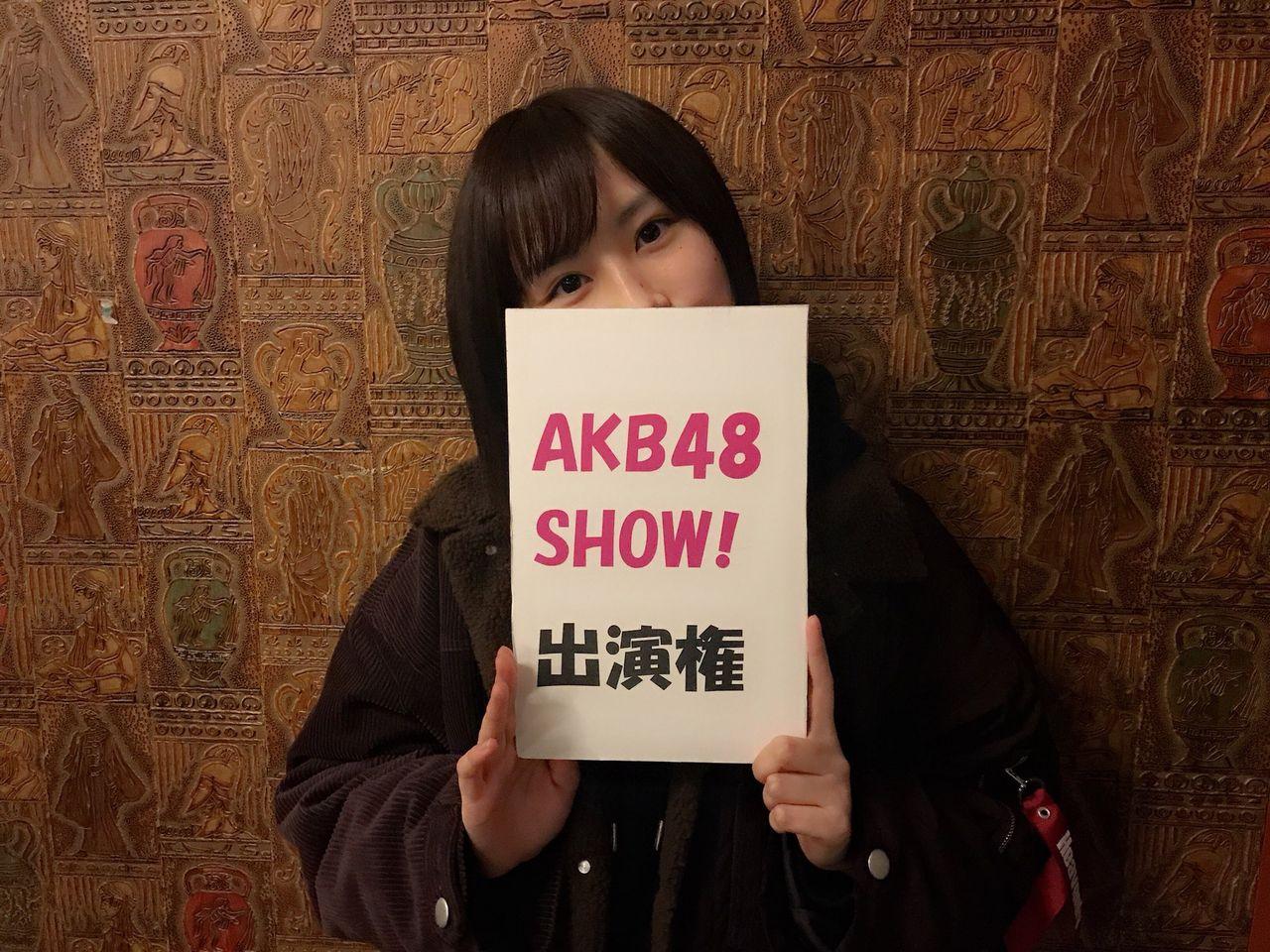 【新年会】NMBのリーサルウェポンがAKB48SHOW出演権獲得キタ━━━━(゚∀゚)━━━━!!