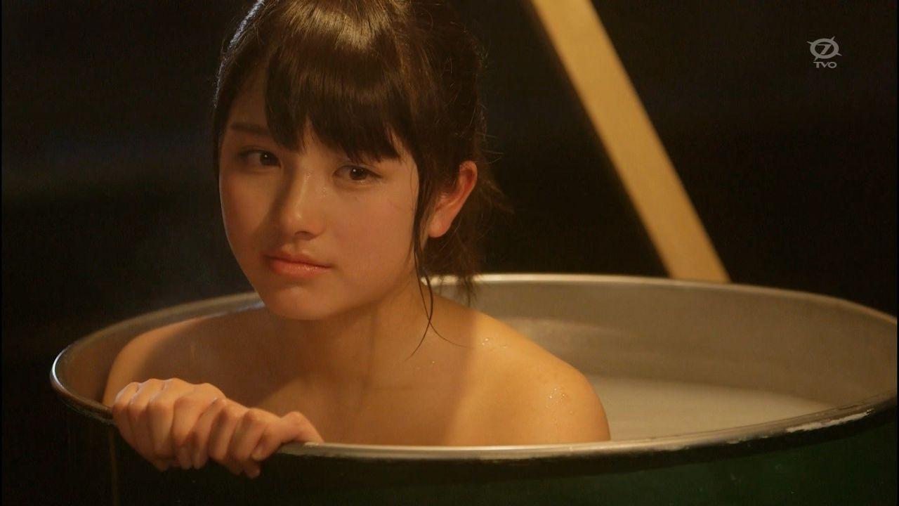 【動画】大和田南那ちゃん、入浴シーン