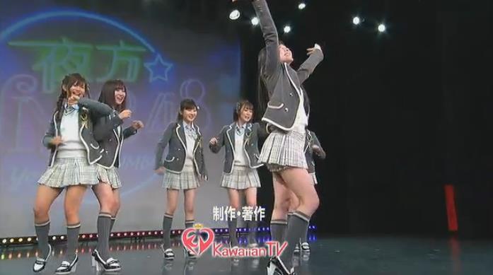 【夜方NMB48】矢倉楓子SP 2期生の大縄跳び&集団ビヨンセw【キャプ画像】