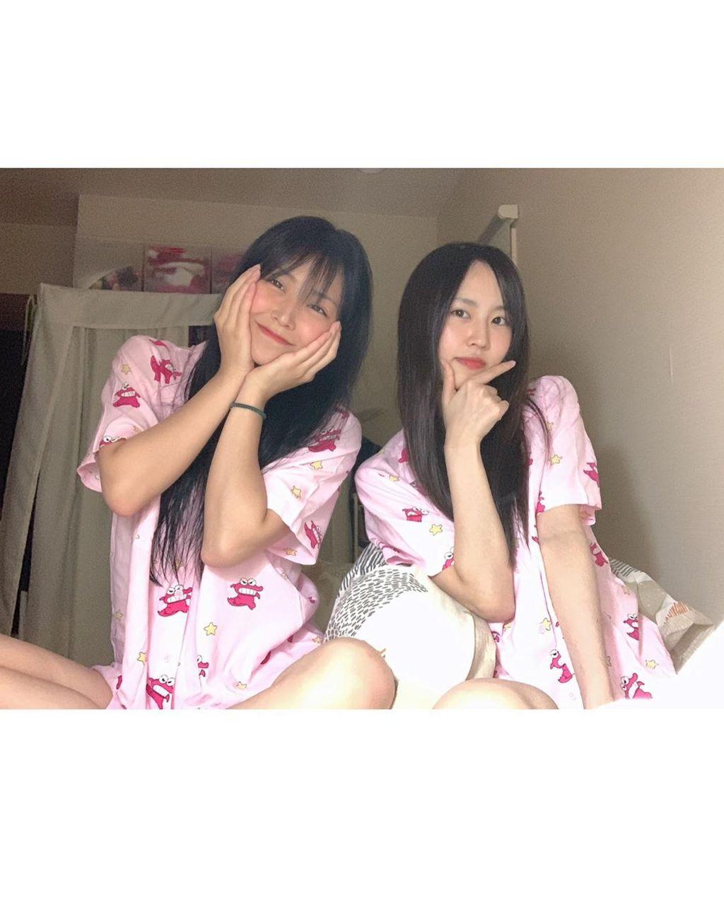 【画像】NMB48なるみるの素っぴんパジャマ(*´Д`)ハァハァ【白間美瑠・古賀成美】