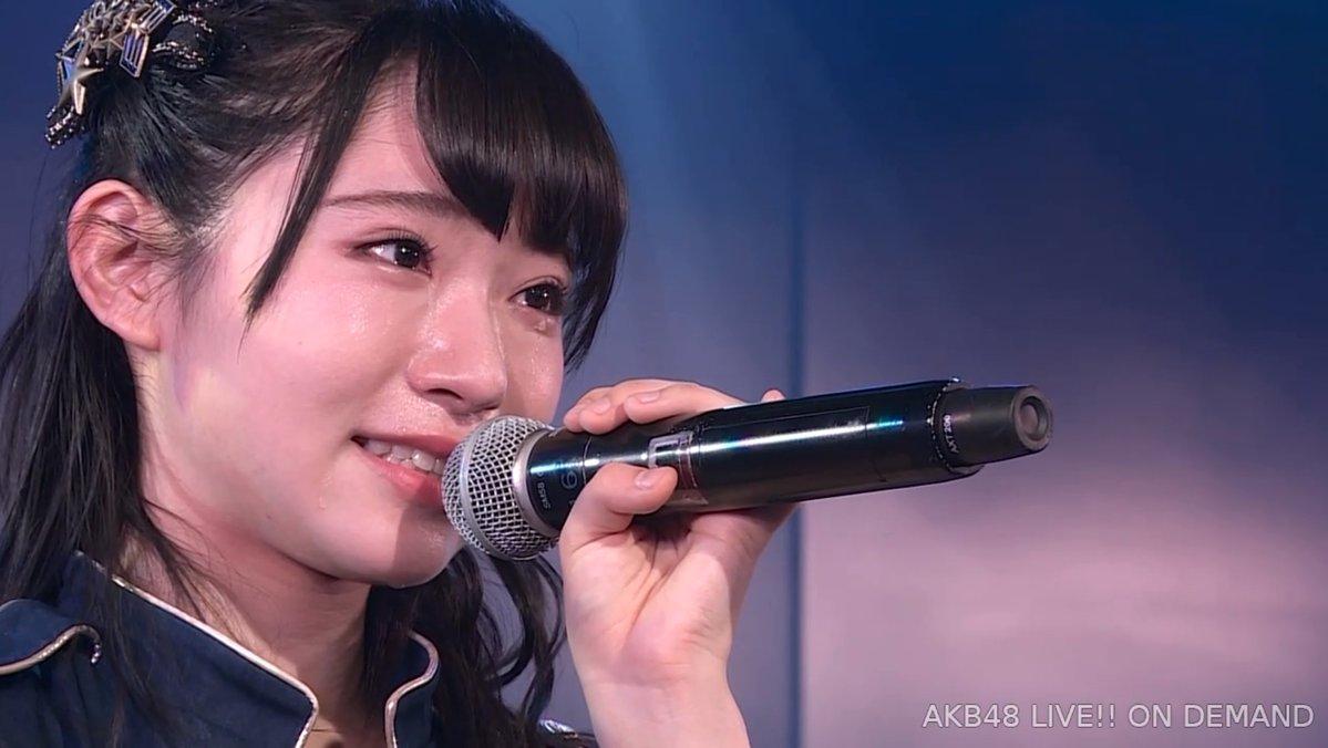 """【速報】山内瑞葵が公演で号泣き・・・"""""""