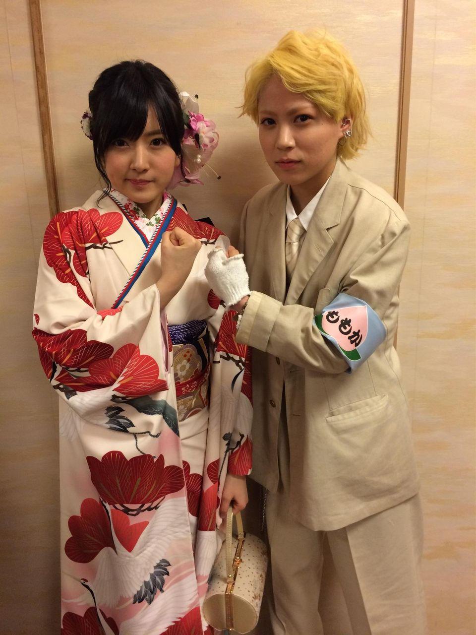 【AKB48グループ成人式】木下百花は国鉄車掌服で参加。NMB48メンバー画像