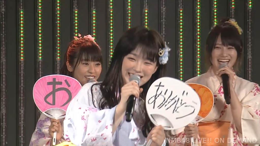 【NMB48】中野麗来卒業公演、青春ガールズ『僕の打ち上げ花火』実況まとめ