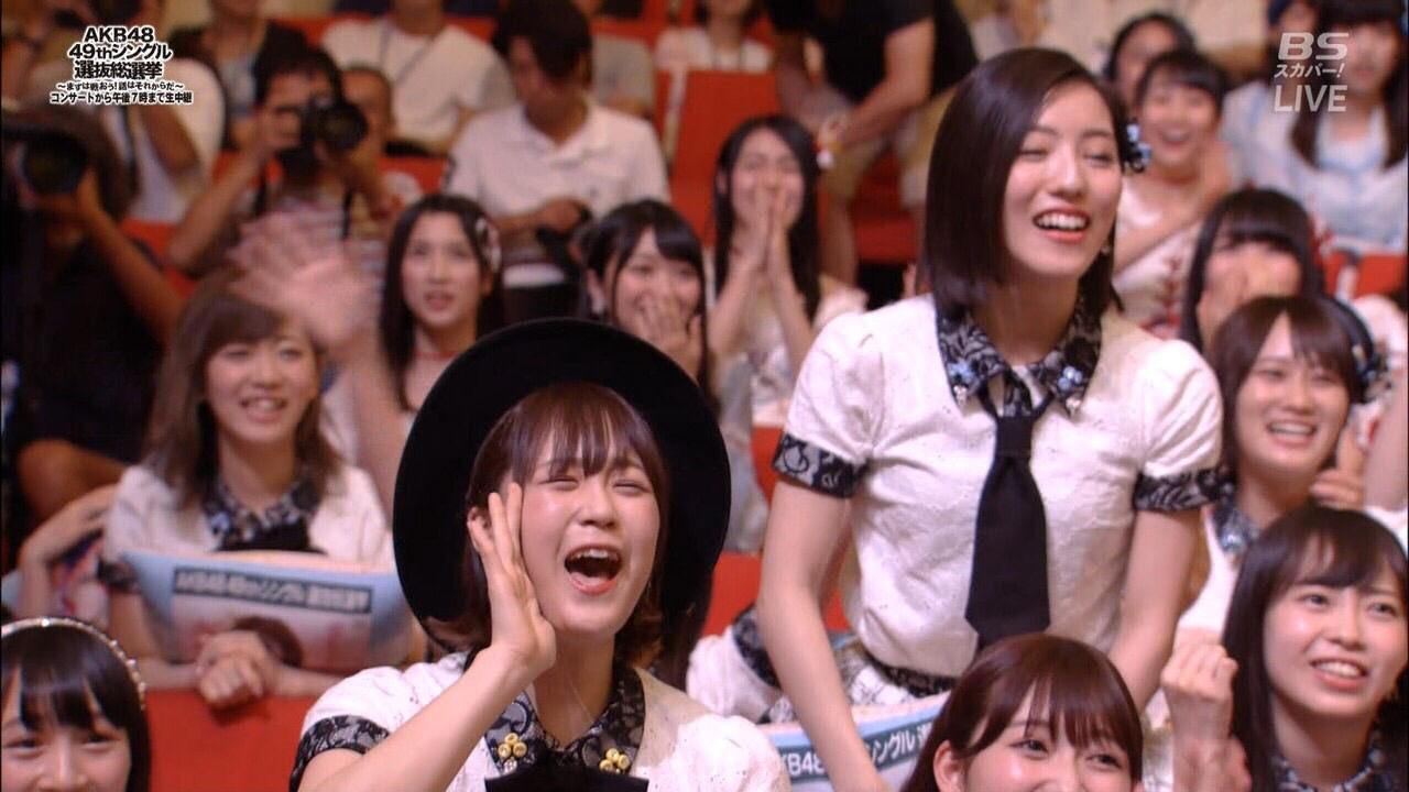 AKB48 54thシングル選抜発表。ヲタの反応→