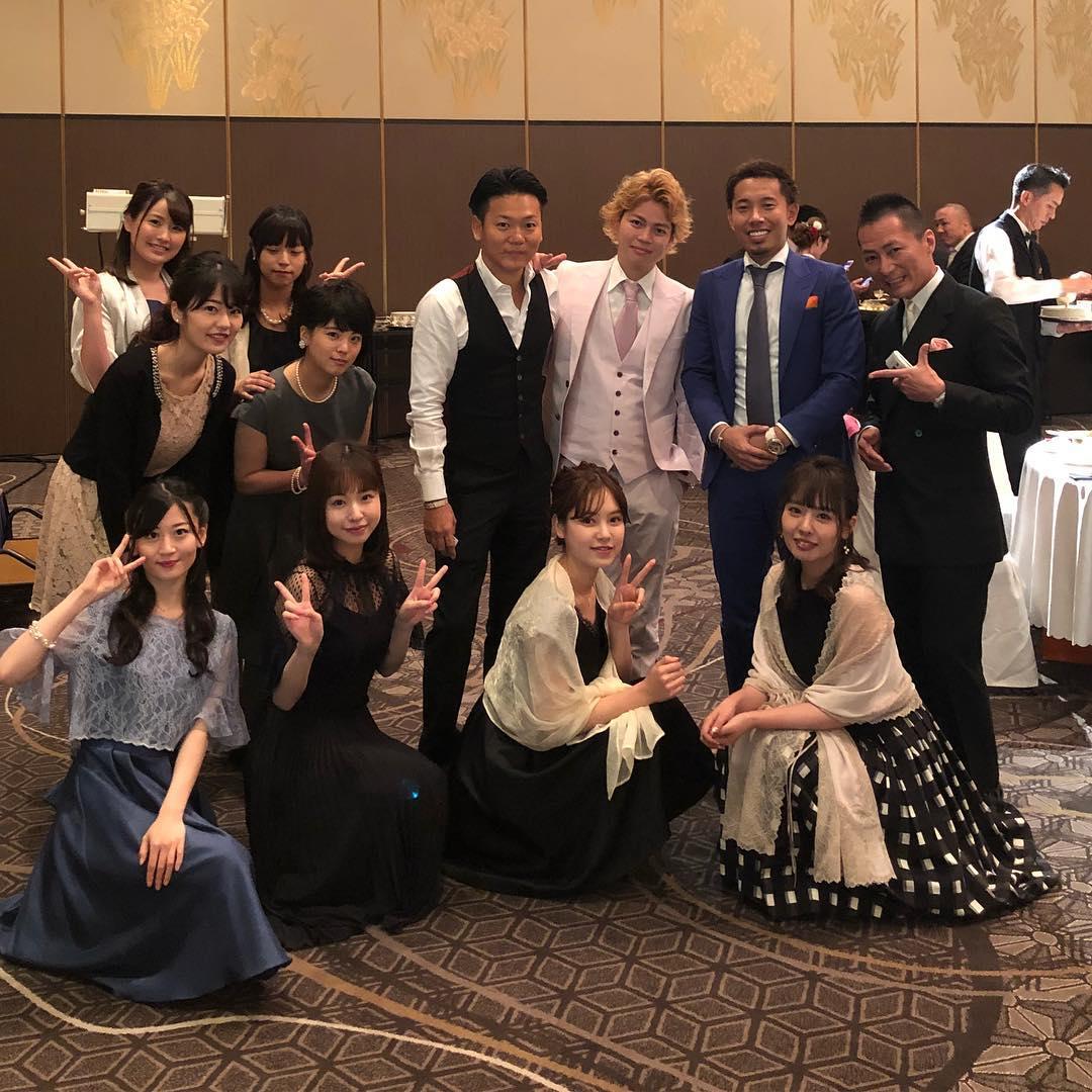 【速報】元NMB48 木下春奈さん、無事結婚。1期生集合きたー()