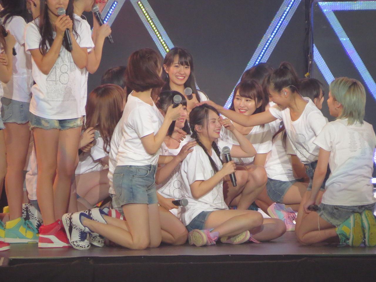 【NMB48リクアワ初日】堀詩音の昇格を発表!研究生公演も発表wwwwwwwww