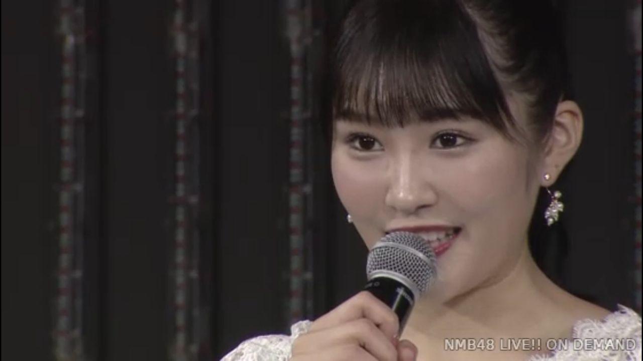 【速報】NMB48 川上礼奈が卒業を発表。