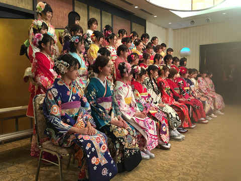 【AKB48グループ】2018 成人式 集合写真・序列判明キタ━━━━(゚∀゚)━━━━!!
