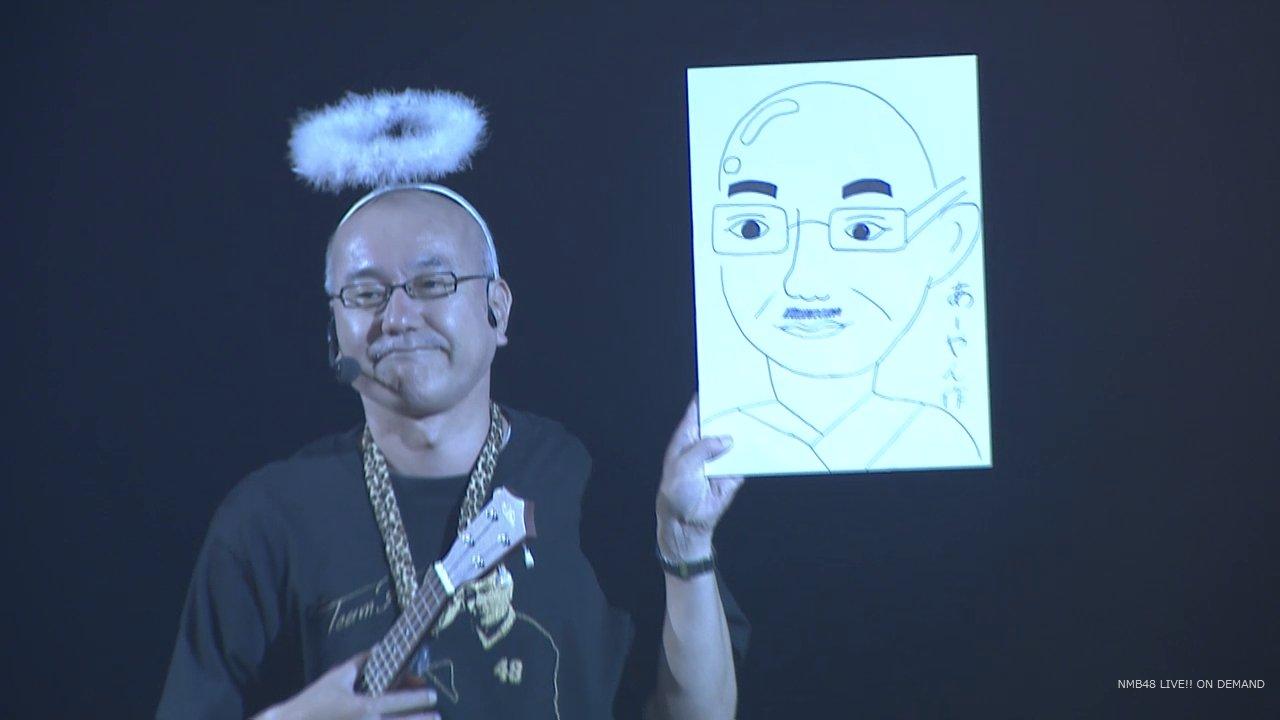 【NMB48】 5期生が金子支配人の似顔絵を描いた結果www