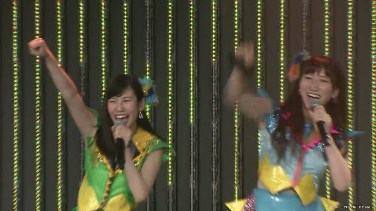 NMB48チームN西澤瑠莉奈生誕祭で石田優美と宣言「Wセンターとるぞ!」