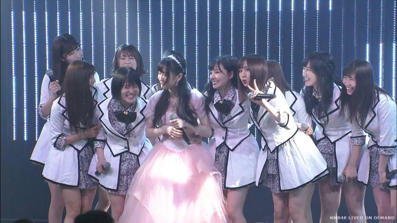 【NMB48】矢倉楓子卒業公演 2期生で『桜の花びらたち』を披露【実況・キャプ画像】