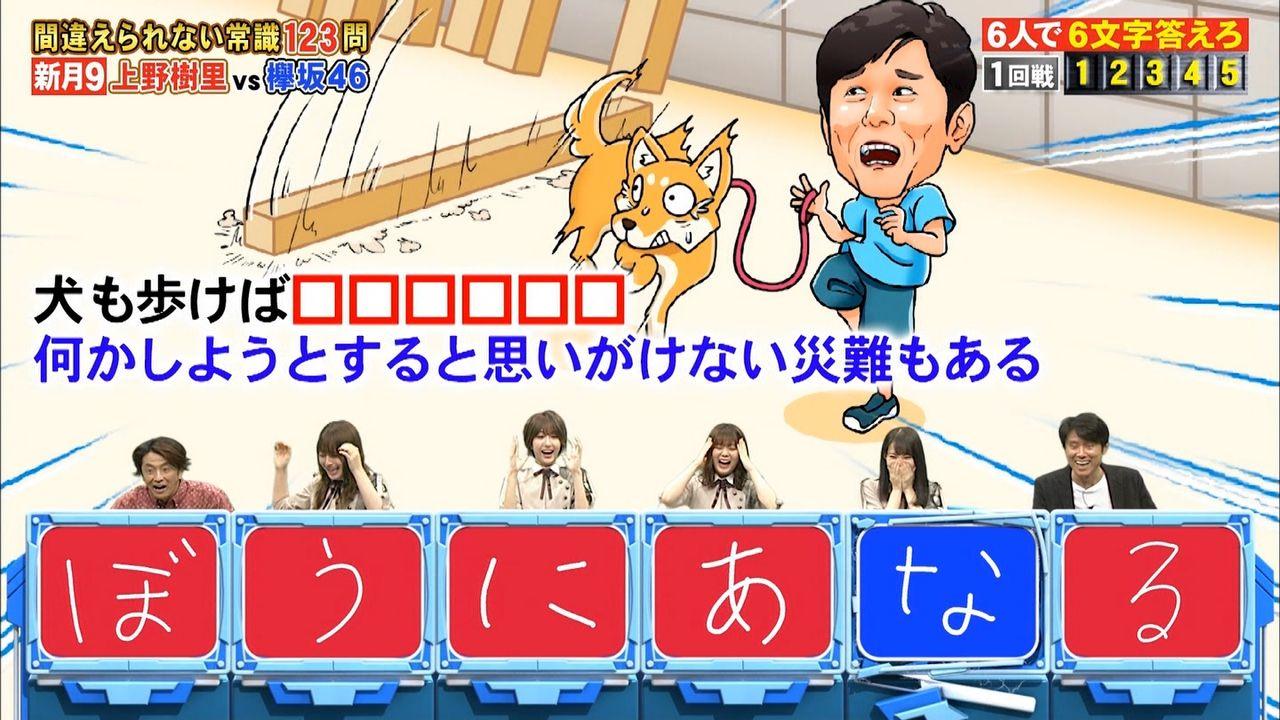【速報】欅坂46さん、ネプリーグでメンバーが放送事故【#ぼうにあなる】