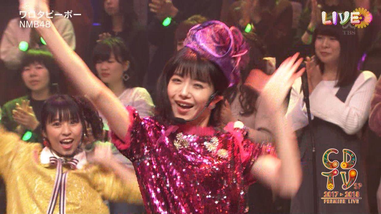 【CDTV年越しプレミアライブ】やまりなキタ━━━━(゚∀゚)━━━━!!【NMB48実況】