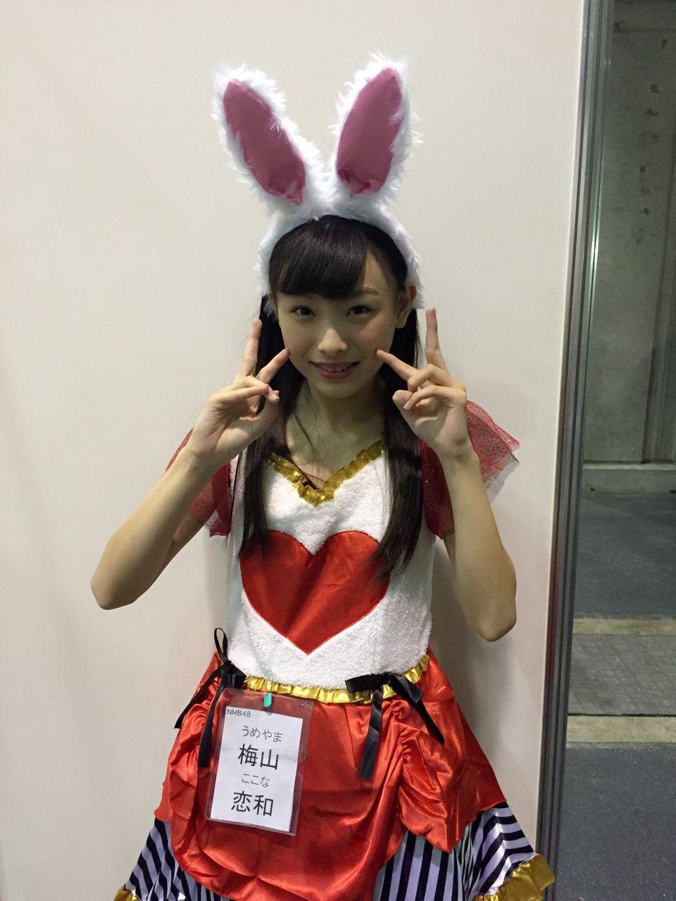 【NMB48】梅山恋和が上西恵に私信【ぴょんぴょん】