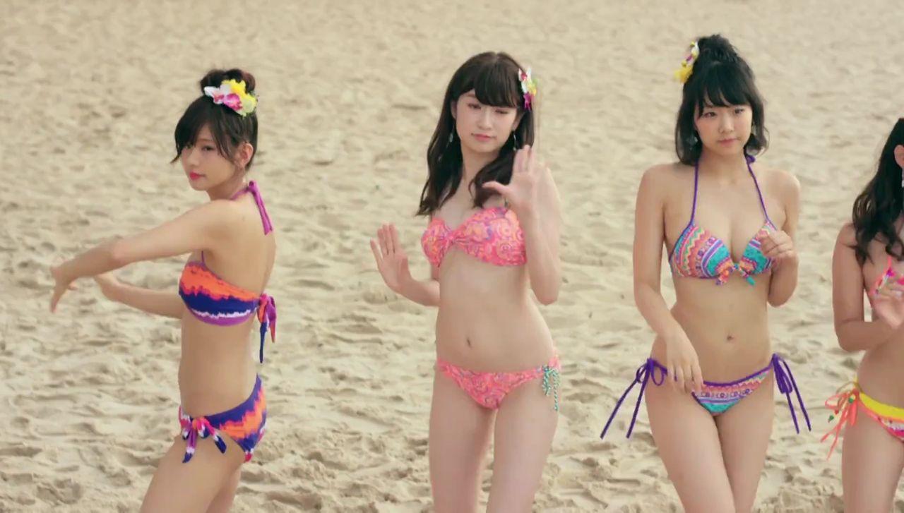 【NMB48】「僕はいない」水着ダンスMVに映ってはイケないものが・・・・