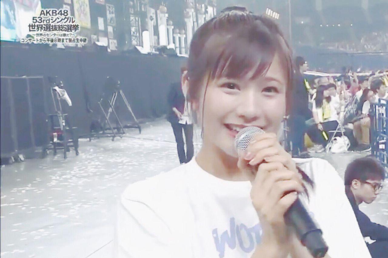 【悲報】NMB48谷川愛梨さん、名前呼ばれない【AKB48選抜総選挙】