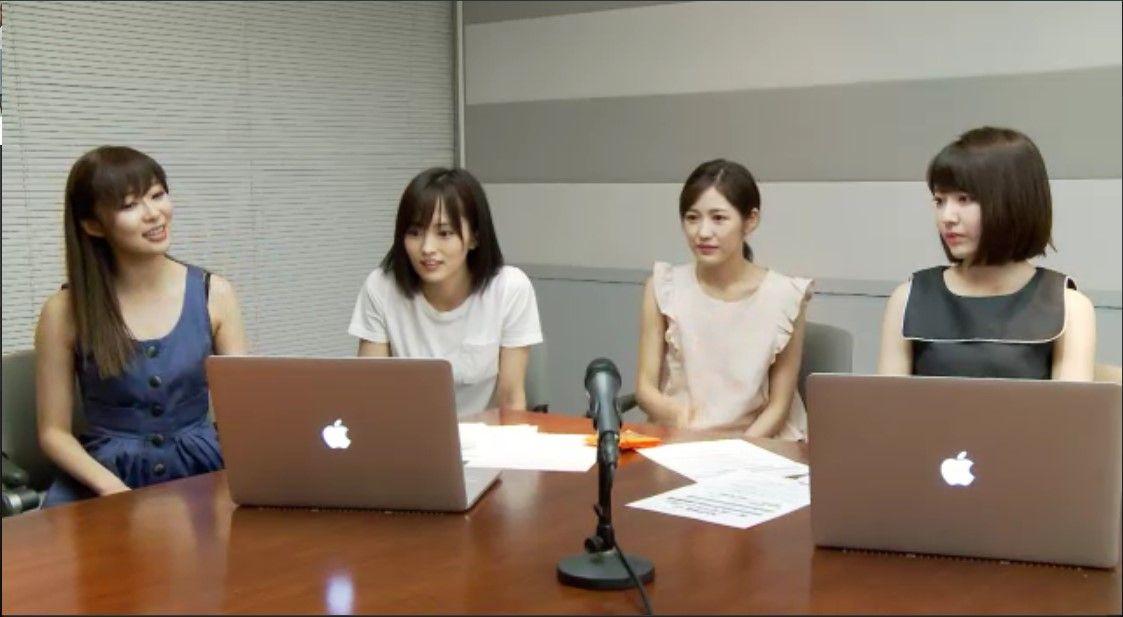 【悲報】AKB48のオールナイトニッポン直前SHOWROOMが不評。【山本彩・渡辺麻友・指原莉乃・宮脇咲良】