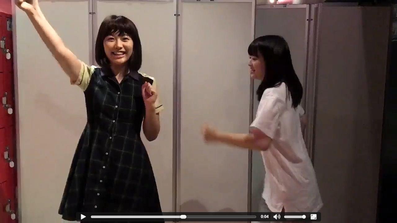 AKB48横島亜衿、同期に蹴られる