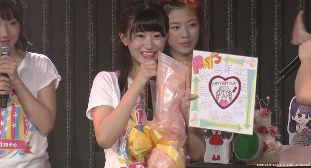 NMB48上西怜生誕祭「センターをやらせて頂いてます!センターをやらせて頂いてます!センターを・・・」