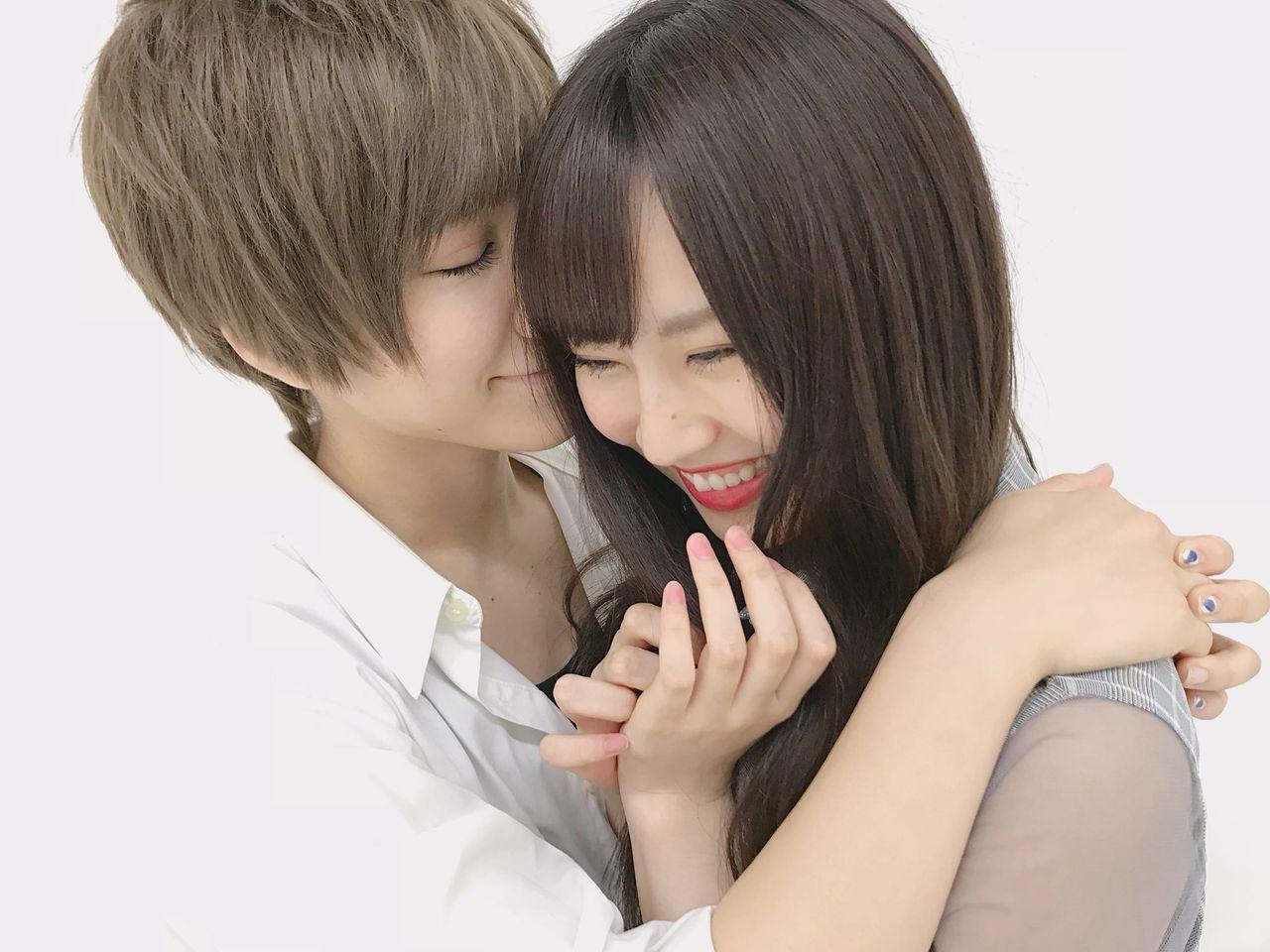 【画像】イケメンに抱擁されるNMBメンバーをご覧くださいwwwwwww