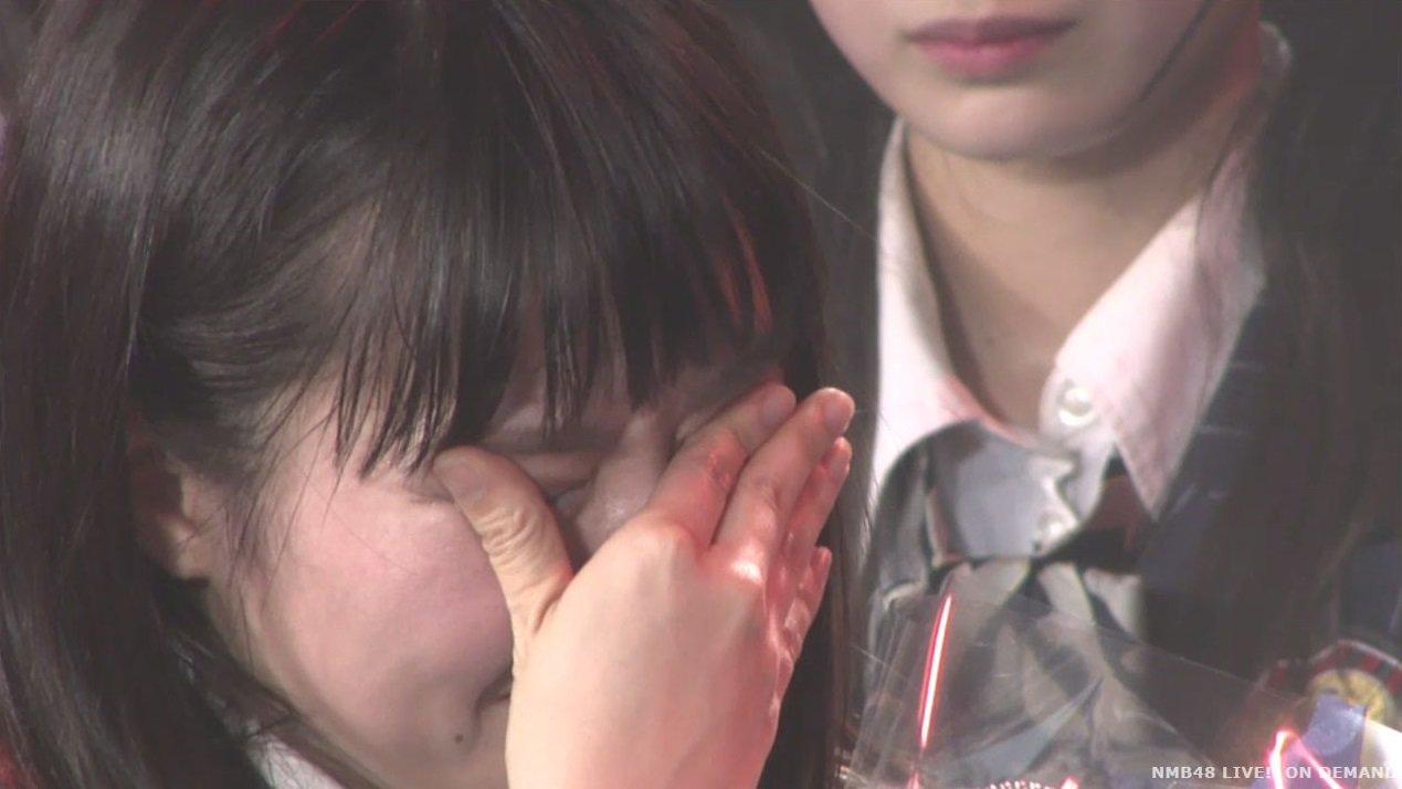 【NMB48】堀詩音生誕祭で連続号泣w「ドラフト2期生初選抜の壁をぶち壊す!」