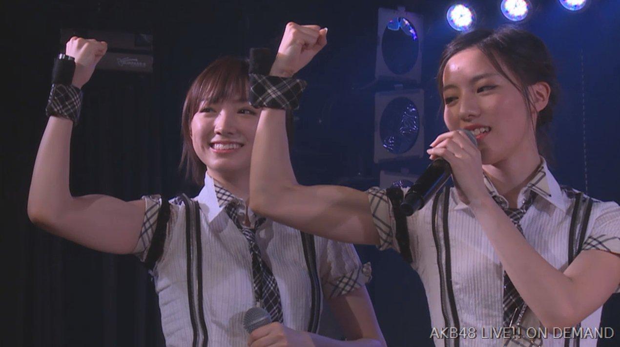 【NMB48チームBⅡ】太田夢莉の上腕二頭筋すげえwwwwwwwwwwww【AKB48劇場出張公演】