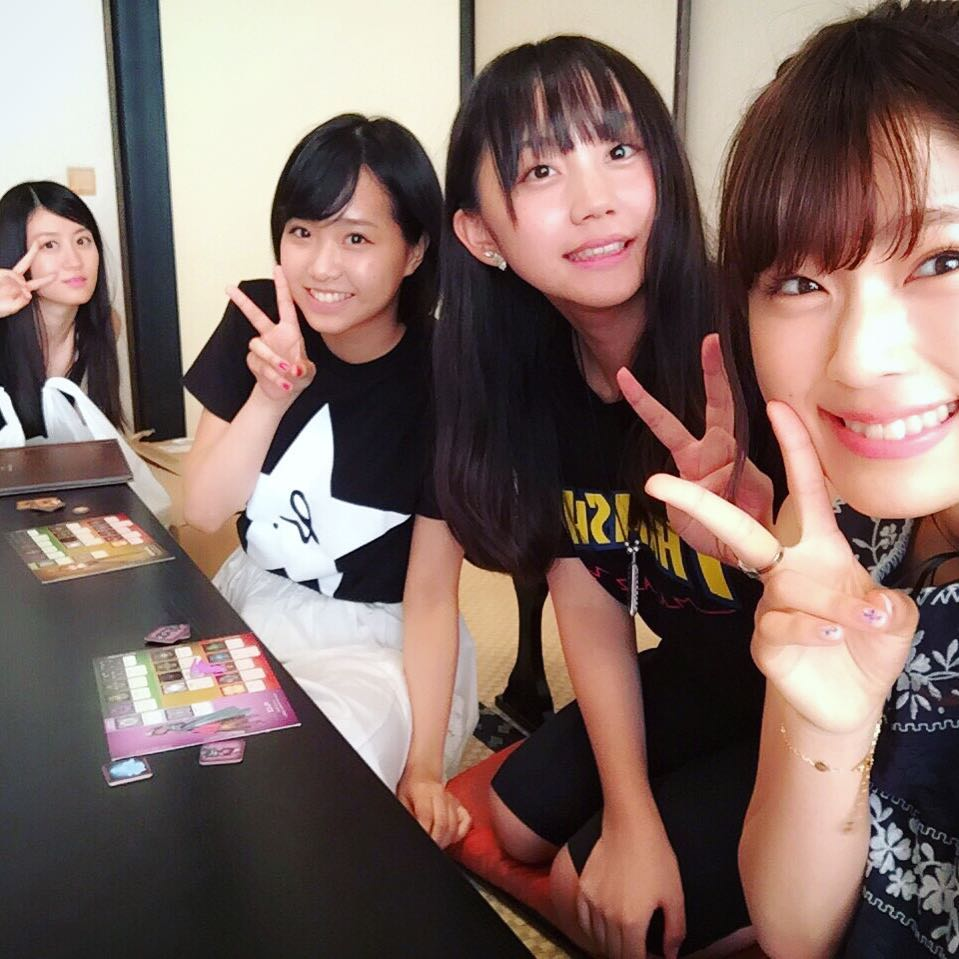 NMB48加藤夕夏・上西恵・薮下柊・渋谷凪咲が慰安旅行